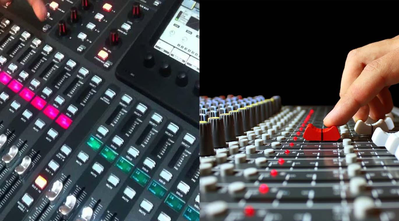 Analog veya Dijital Ses Mikserleri