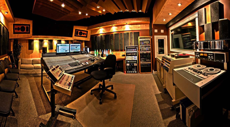 Stüdyo içi ve kontrol odası Ses Sistemleri